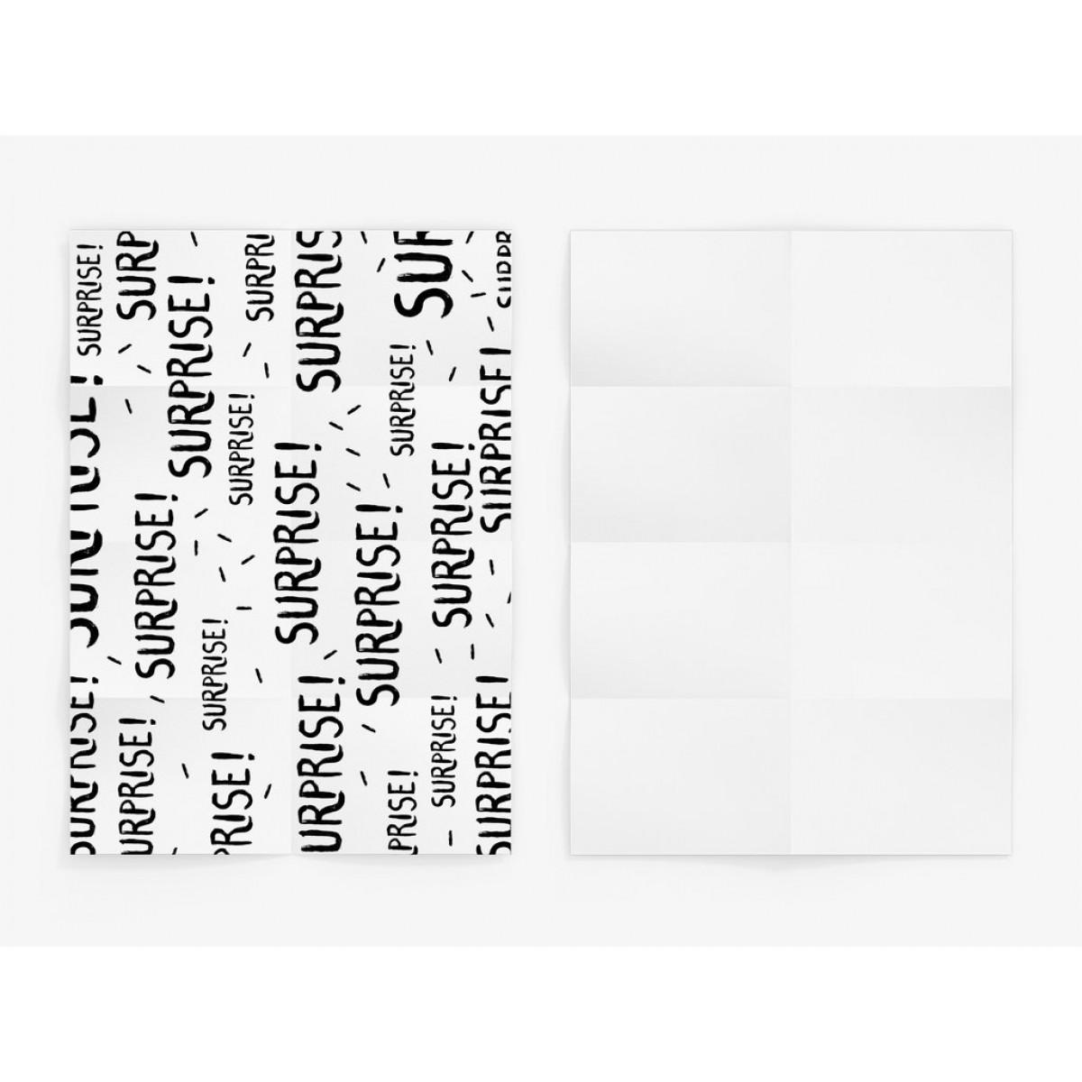 typealive / Geschenkpapier / Surprise (gefaltet)
