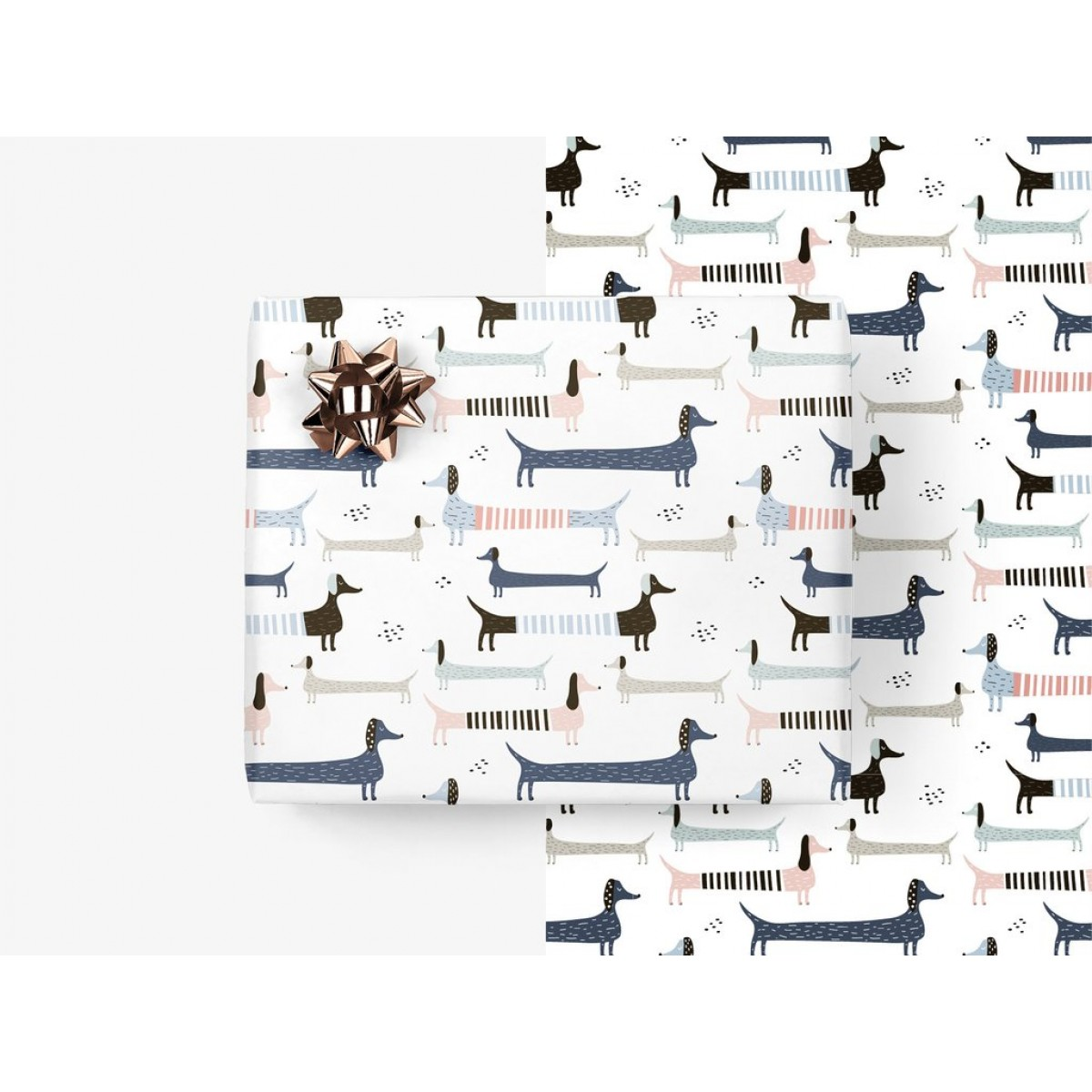 typealive / 5x Geschenkpapier / Wiener Wrap (gefaltet)