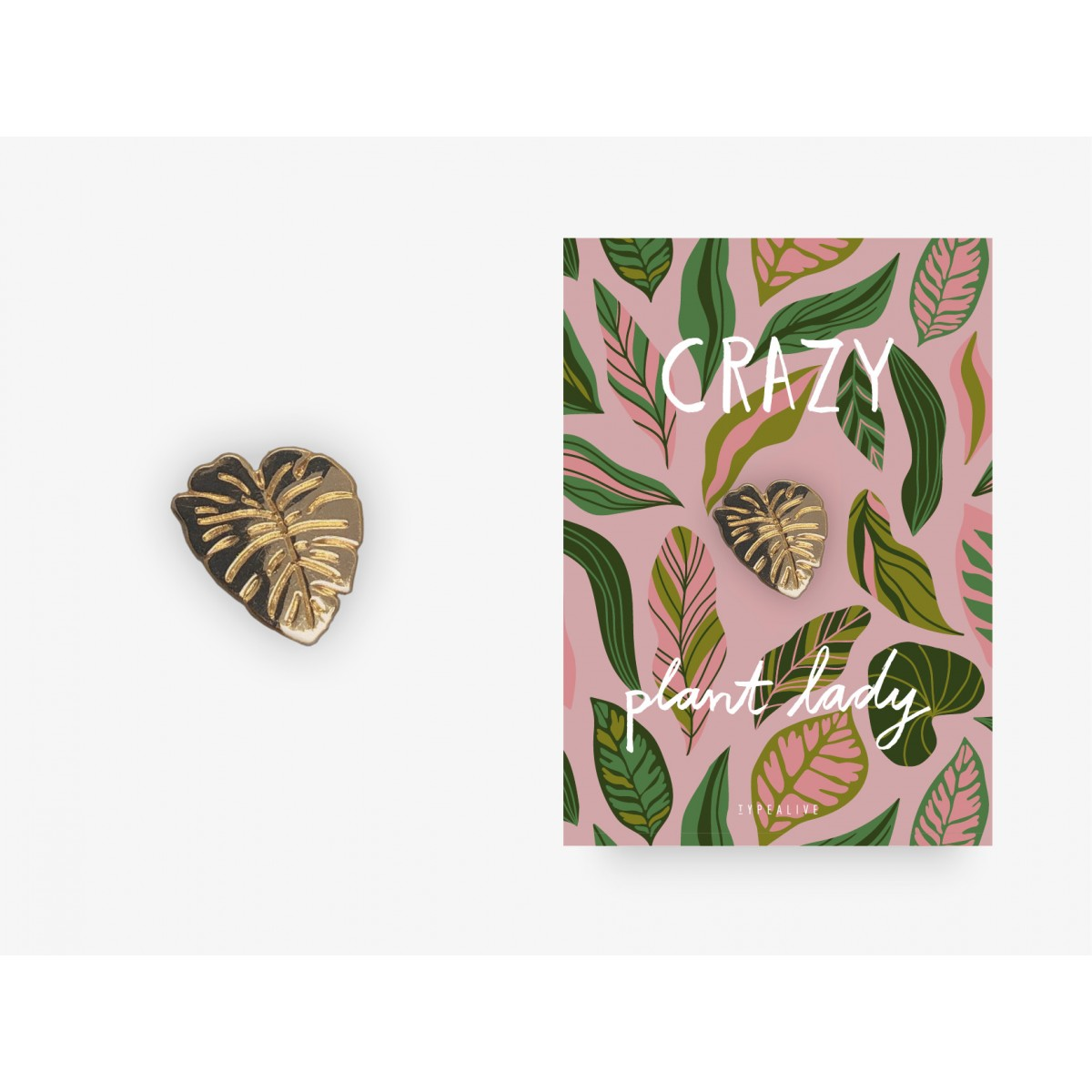 typealive / Pin / Crazy Plant Lady
