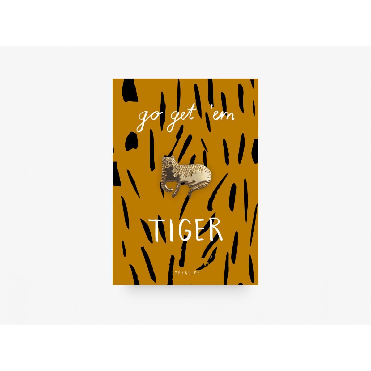 typealive / Pin / Tiger