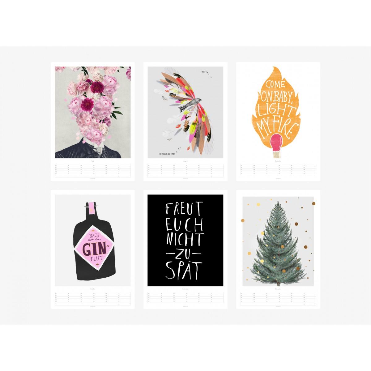 typealive / Wandkalender / Prints