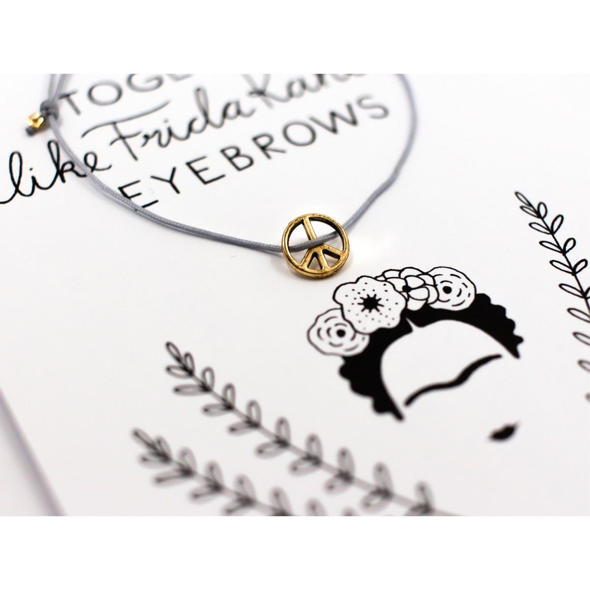 typealive / Armband / Fridas Eyebrows