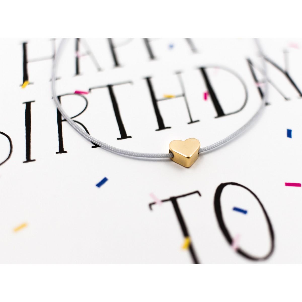 typealive / Armband / Happy Birthday