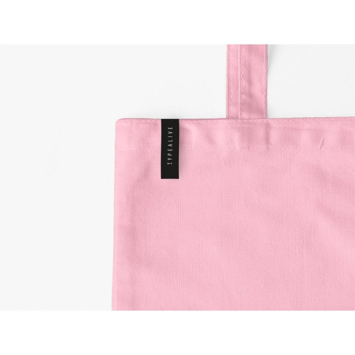 typealive / Baumwolltasche / Fancy  / Pink
