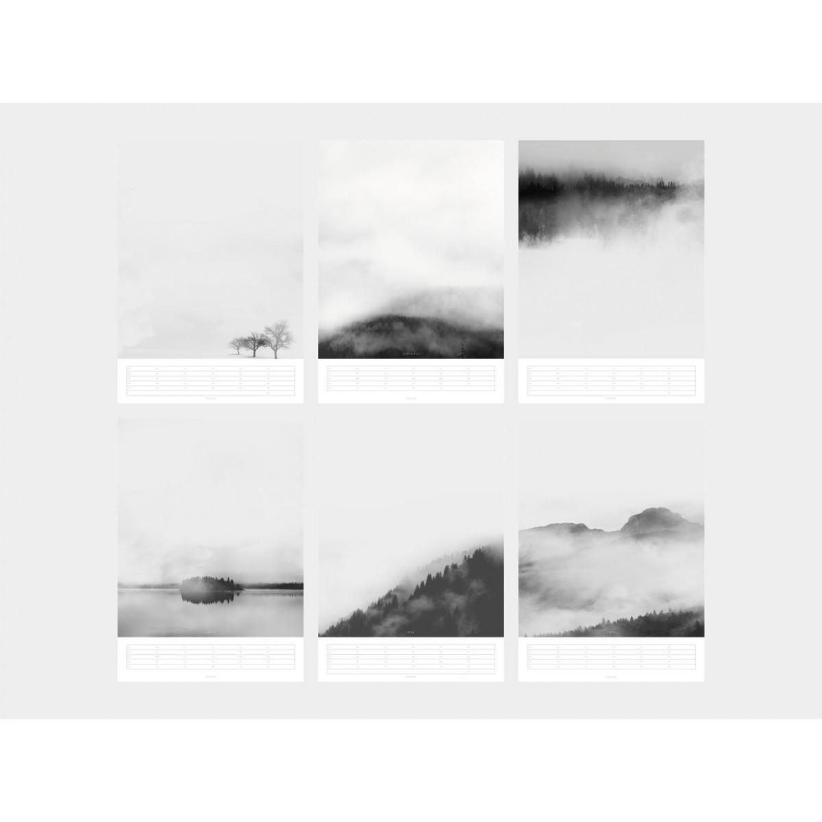typealive / Wandkalender / Landscapes 2020