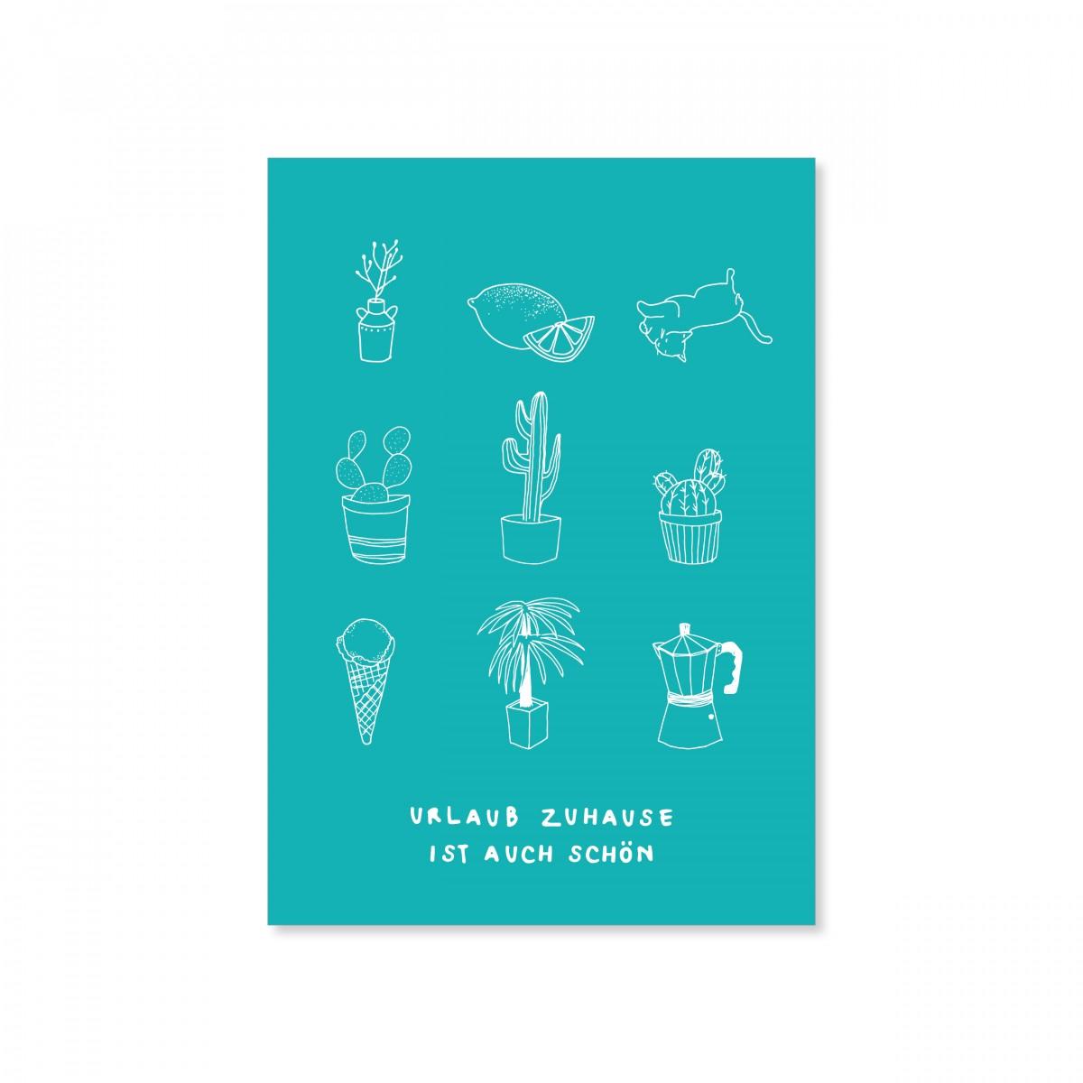 zita products - ULLA Postkarte DIN A 6