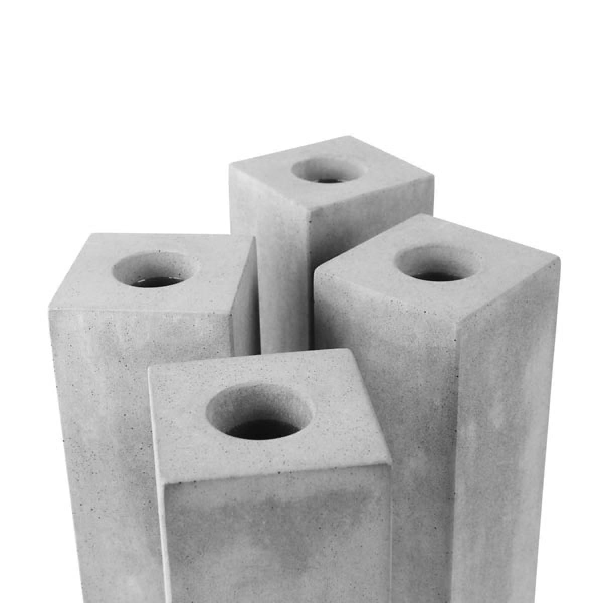 """Vase """"BLOCK"""" aus Beton"""