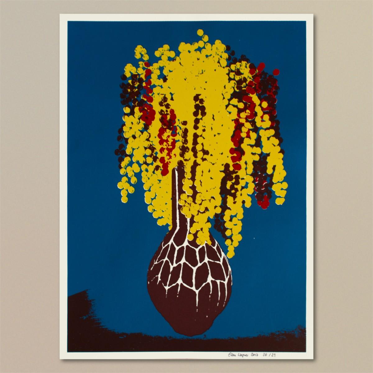Print now - Riot later ● Vase #6 Siebdruck