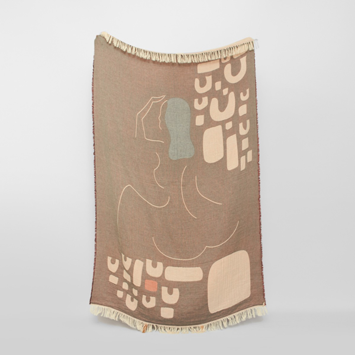 VINDUE LADY ON THE HILL BLANKET