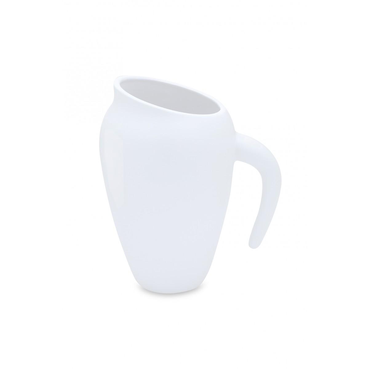 Eve Vase matt-weiß