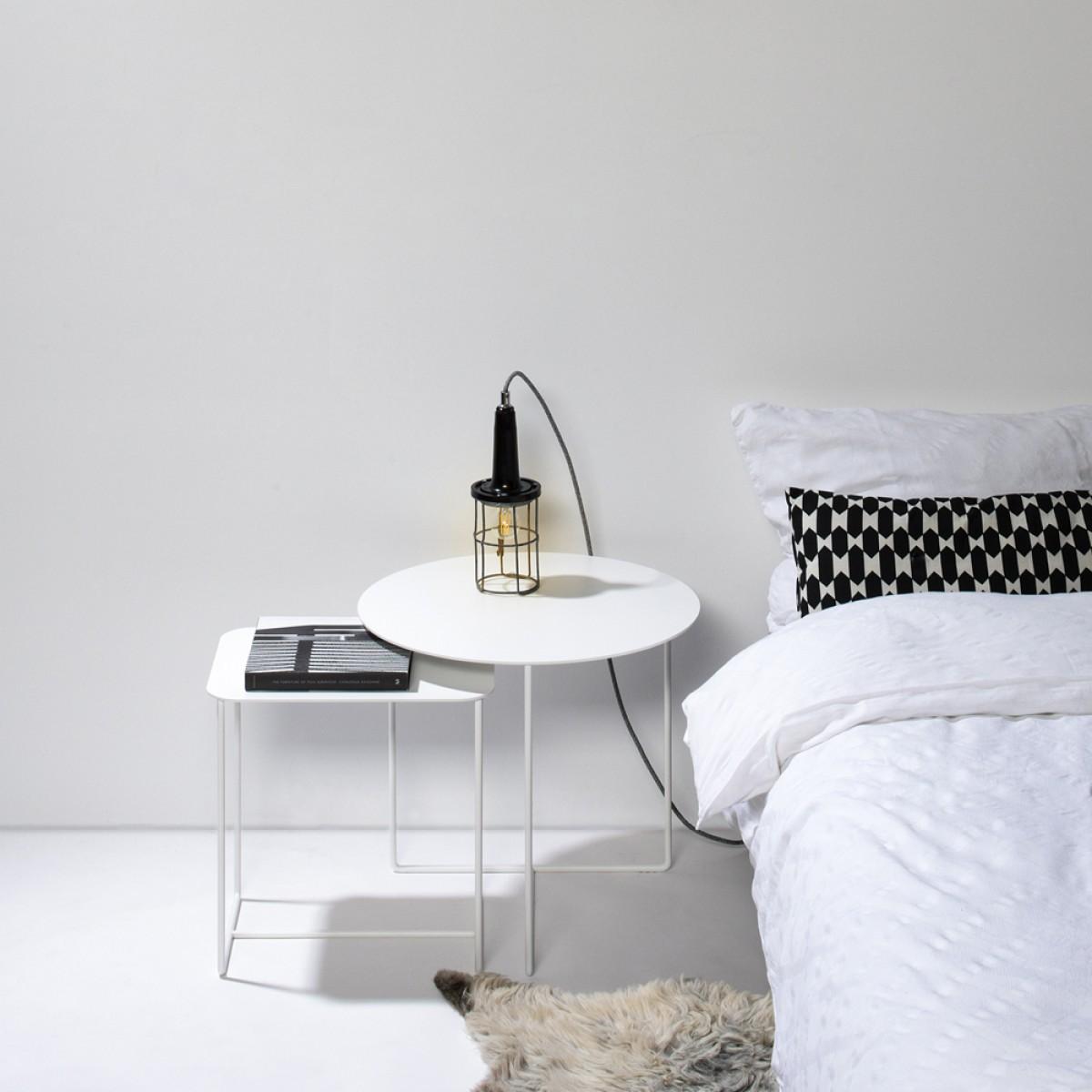 Beistelltisch Solid 01 weiß