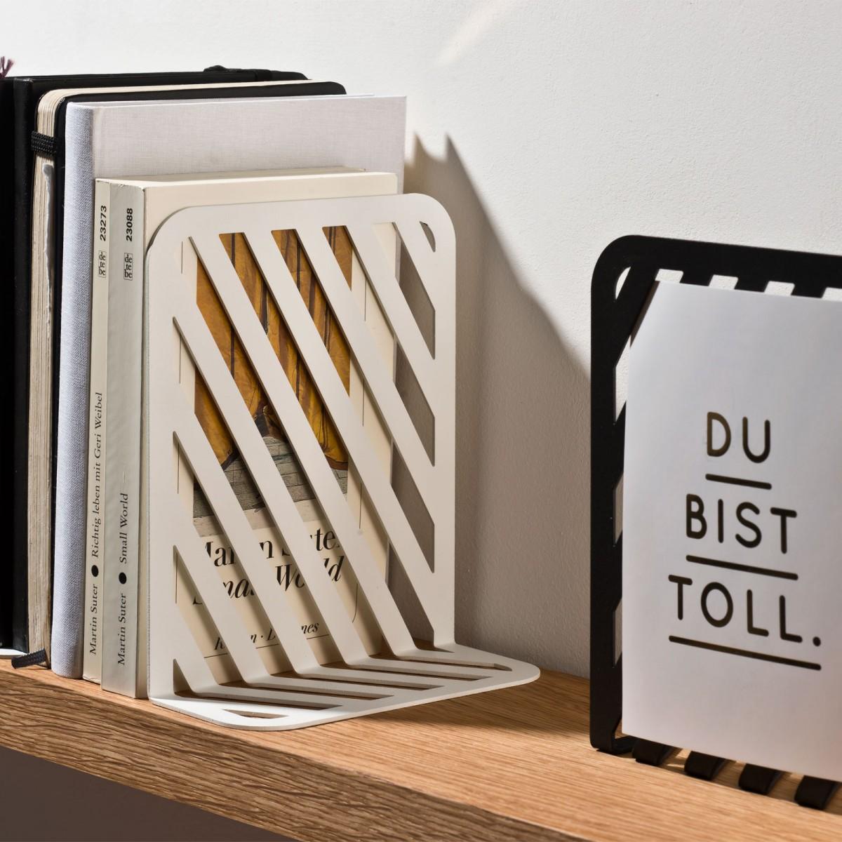 weld & co Buchstützen Set Grid
