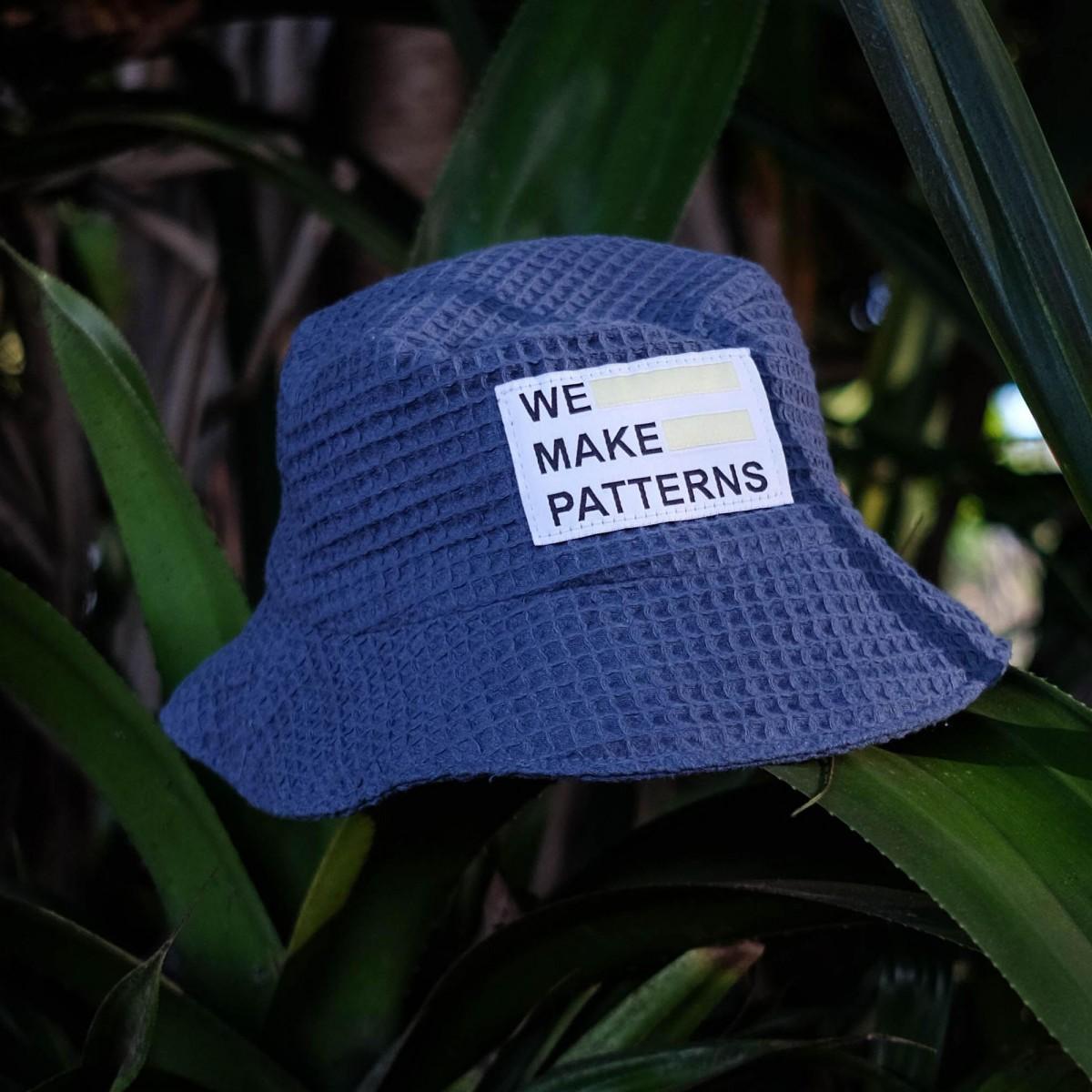 We Make Patterns - Bucket Hat Blue