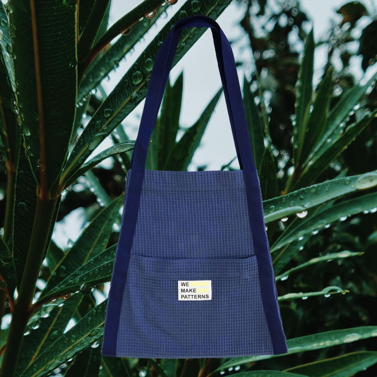 We Make Patterns - Surf&Yoga Carry Bag Blue