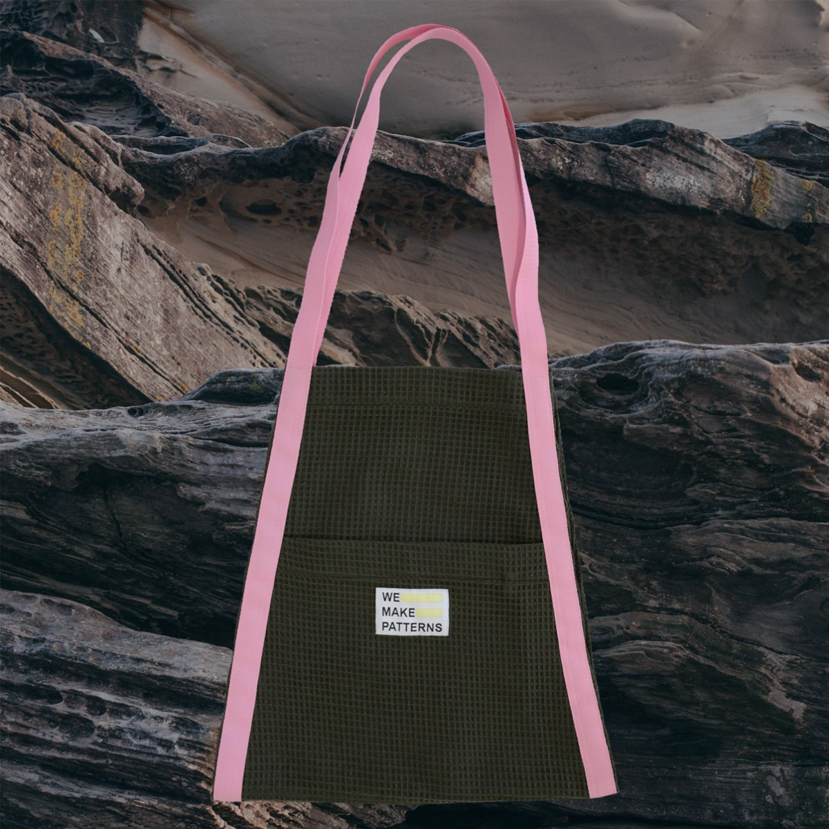 We Make Patterns - Surf Carry Bag Khaki
