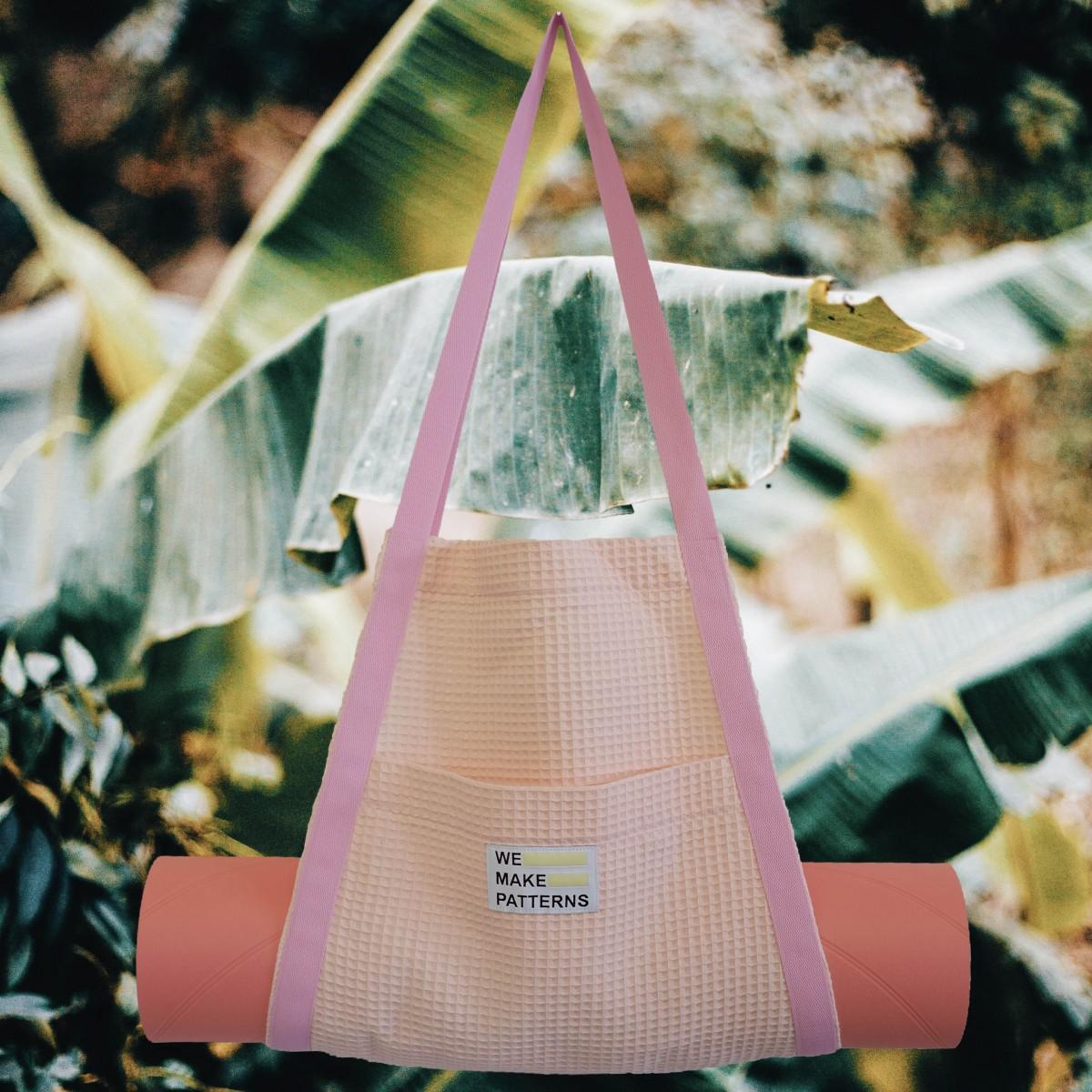 We Make Patterns - Surf&Yoga Carry Bag Peach