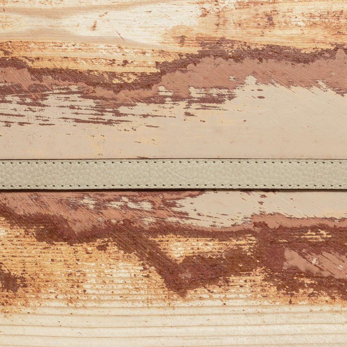 LEDERJUNGE – Wickelarmband, Armband »LIZ« aus Rhabarberleder (sand)