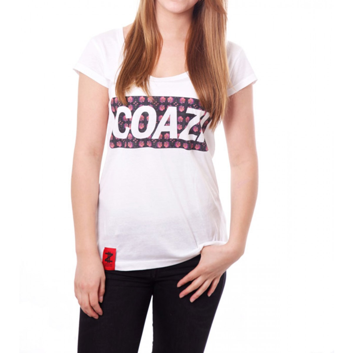 Coazi Floral Wide T-Shirt Female
