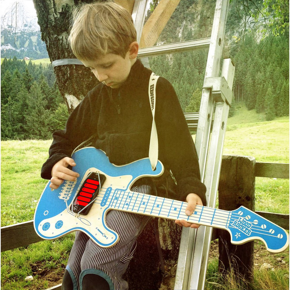 Woodrocker, die Profi-Luftgitarre - von Neue Freunde