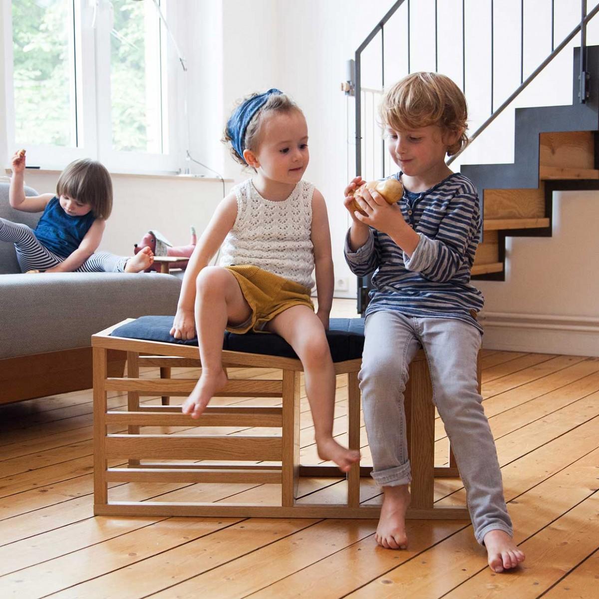 Zaunkönig – Lernturm, Hochstuhl für Kinder und Spielmöbel in einem (9 Monate+)