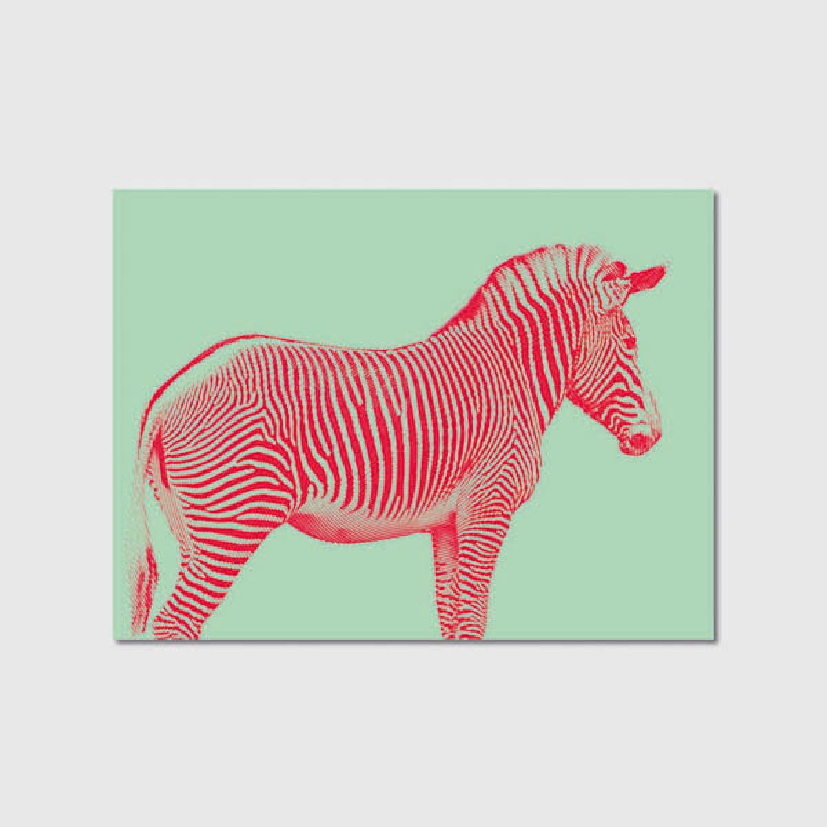 "ZEITLOOPS ""Zebra"", Poster A4 / A3"