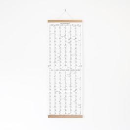 KLEINWAREN / VON LAUFENBERG Der lange Wandkalender 2020 mit Posterleiste