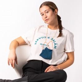 HYRES Unisex T-Shirt Servus & Salam / Off White