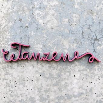 NOGALLERY - Tanzen- Holzschrift - 3D