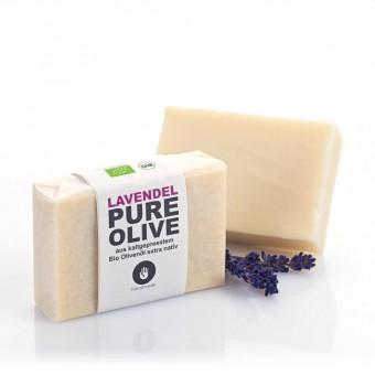 ZUSATZSTOFF Pure Olive Seife Lavendel