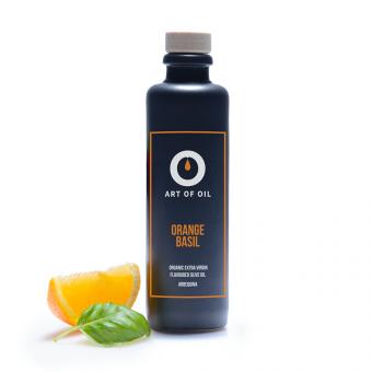 ART OF OIL Extra Virgin Olivenöl - Orange Basilikum (200ml)