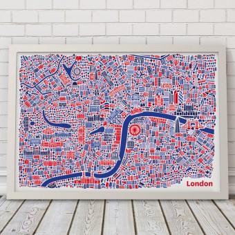 Vianina London Poster 70 x 50