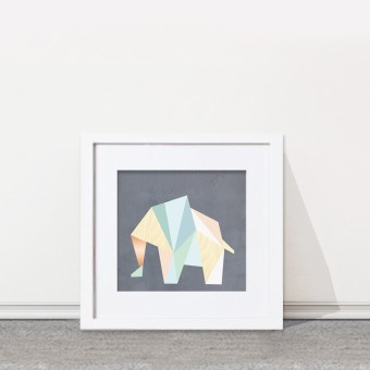 KAMI. poster – elephant
