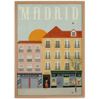 Human Empire Madrid Poster (50x70cm)