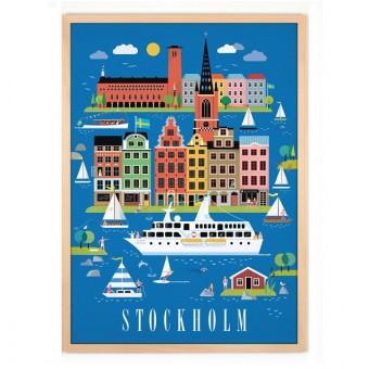 Human Empire Stockholm Poster (50x70cm)