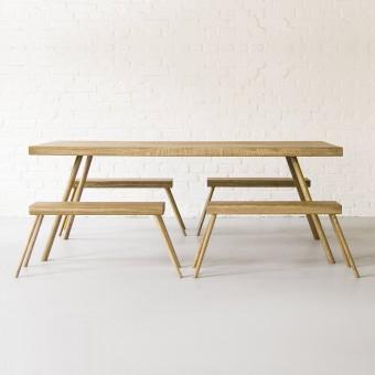 komat Landluft Tisch aus Eiche