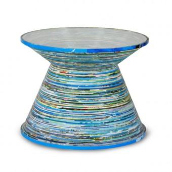 """Beistelltisch """"Paper Table Mid Size Blue"""""""