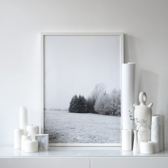 na.hili winter wonderland - A3 Artprint - Poster
