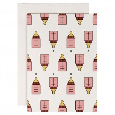 redfries set baby boom – Set mit 4 Klappkarten DIN A6 mit Umschlag