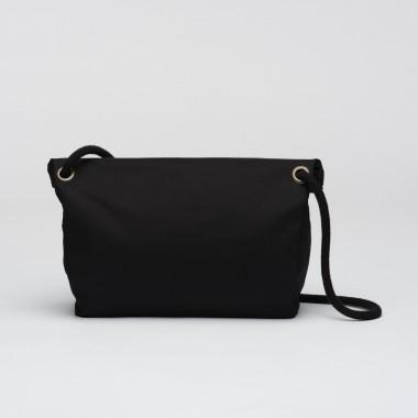 VANOOK Handbag Charcoal / Malachite