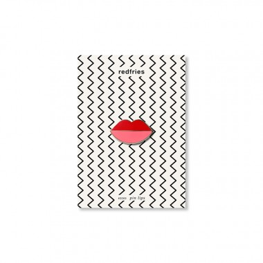 redfries pin lips – Pin Hartemaille