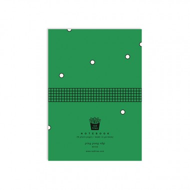 redfries ping pong nbp –Notizheft DIN A6