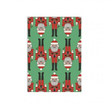 redfries wrap santacracker – Geschenkpapier DIN B2, 3 Bögen