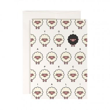redfries set countryside – Set mit 4 Klappkarten DIN A6 mit Umschlag