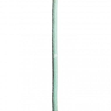 """Lichtliebe Tischleuchte """"Fafoo"""" in weiß und mint meliert inkl. LED Vintage Glühbirne im Edison Style mit nur 1,5 Watt"""