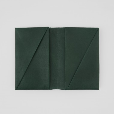 VANOOK Bi-Fold Card Case Small / Malachite