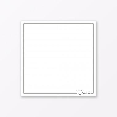 "TYPOP 2-teiliges Set Design GRUSSKARTE ""Schatziputzi"" Mint quadratisch inkl. Umschlag"
