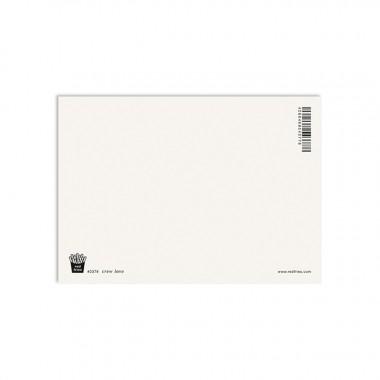 redfries crew love – Postkarte DIN A6
