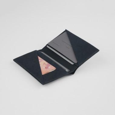 VANOOK Bi-Fold Card Case Small / Charcoal