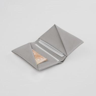 VANOOK Bi-Fold Card Case Small / Stone