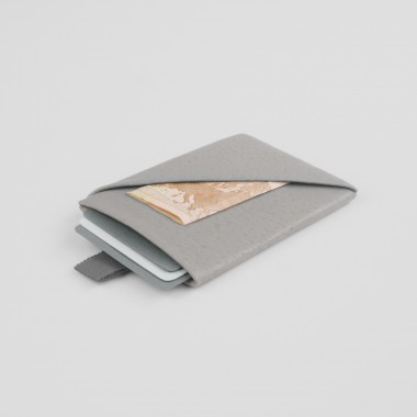 VANOOK Card Case Vertical / Stone
